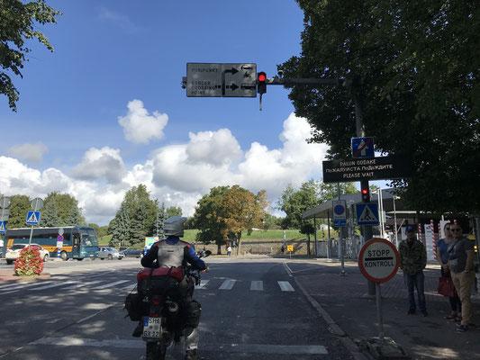 Grenze Estland-Russland