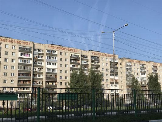 Schöner wohnen im Außenbezirk von Jaroslavl