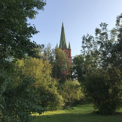 Kirche in Kuldīga