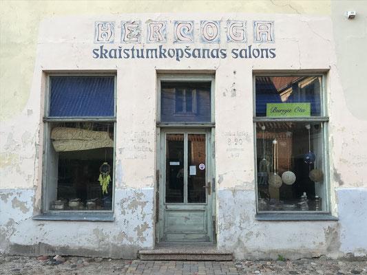 Geschäft in Kuldīga