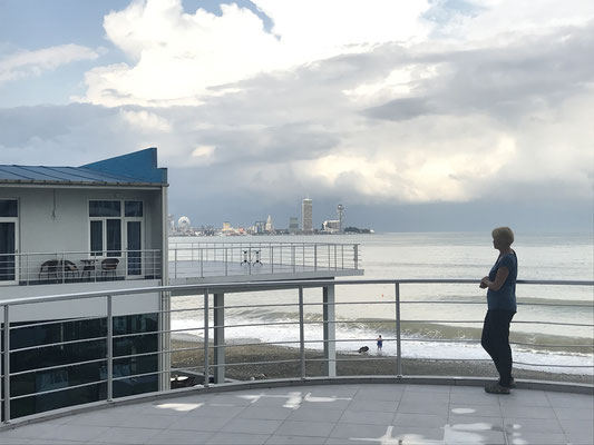 Ein Ort zum Verschnaufen: das Sanpiro-Hotel in Batumi