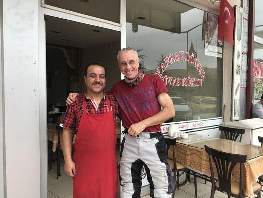 Lokanta-Wirt in Zara