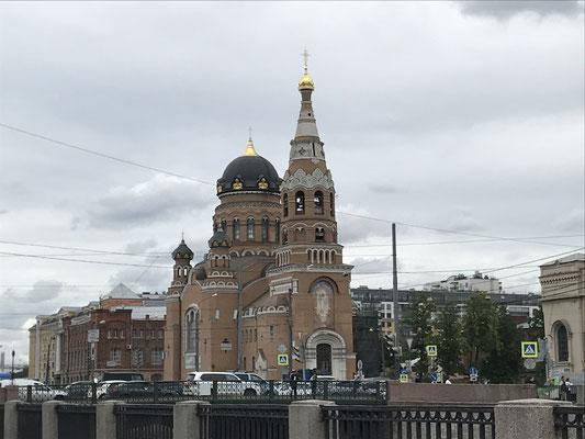 St. Petersburg - orthodoxe Kirche