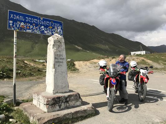 Passhöhe Kreuzpass, 2379 m