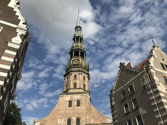 Riga: Petrikirche