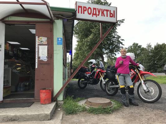 Erster Kaffee in Russland