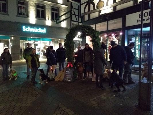 Nachttraining Weihnachtsmarkt Unna Gruppe