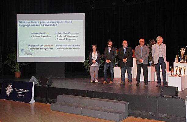 Océanis, cérémonie de remise de distinctions, jeunesse et sport et engagement associatif ...