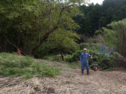 10月16日、イノシシ被害対策プロジェクト+農園管理プロジェクト