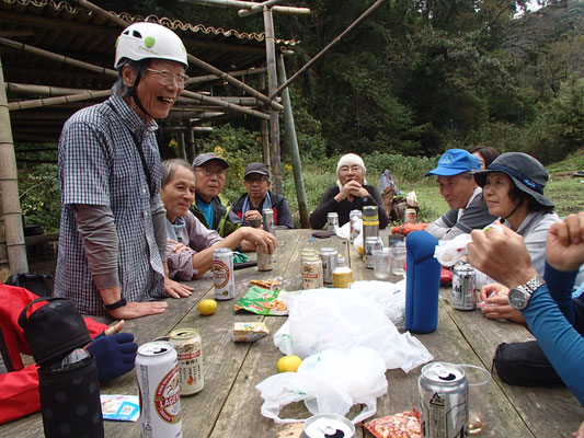 10月15日 二子山山系巡視プロジェクト