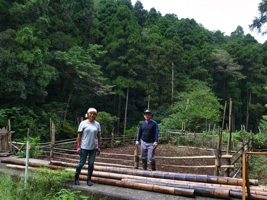 9月5日、イノシシ被害対策プロジェクト+大沢谷広場プロジェクト