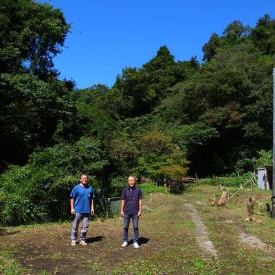 9月15日、イノシシ被害対策プロジェクト+大沢谷広場プロジェクト