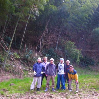 2月24日 大沢谷竹林整備プロジェクト