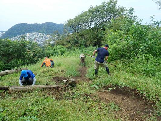 9月11日、ソッカ山頂プロジェクト