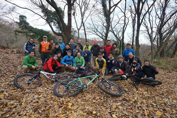 12月29日 三浦半島MTBクラブ連携プロジェクト