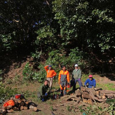 12月15日 森林づくり実践研修