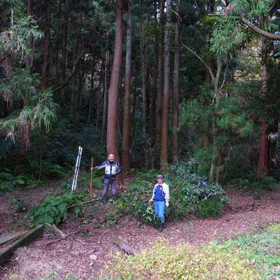 11月29日、イノシシ被害対策プロジェクト+大沢谷広場プロジェクト