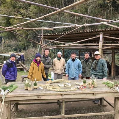 1月12日 上山口寺前谷戸復元プロジェクト