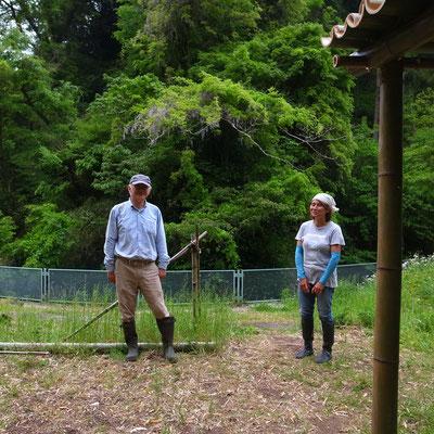 5月1日、イノシシ被害対策プロジェクト+大沢谷広場プロジェクト