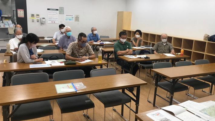 7月12日、二子山山系自然保護協議会運営会議