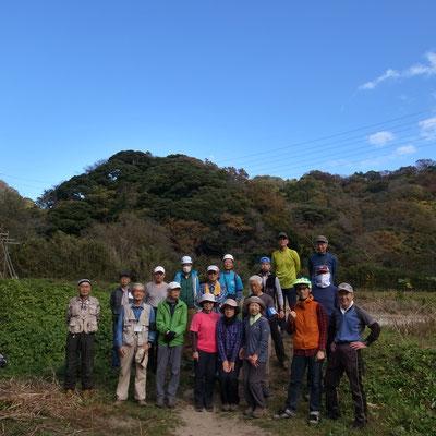 11月22日、二子山山系巡視プロジェクト