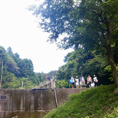 8月9日、大沢谷広場プロジェクト