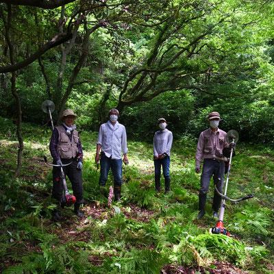 5月8日、葉山ホタルの会連携プロジェクト