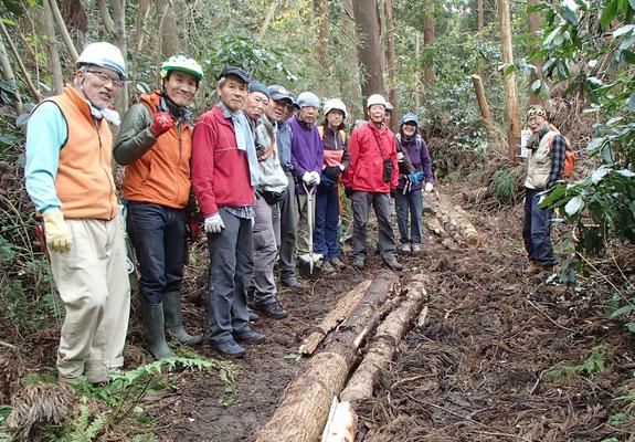 12月13日 二子山山系巡視プロジェクト