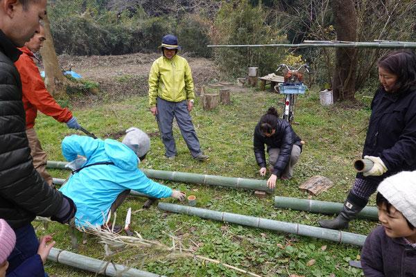12月24日 上山口寺前谷戸復元プロジェクト
