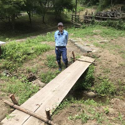 7月26日、イノシシ被害対策プロジェクト+大沢谷広場プロジェクト