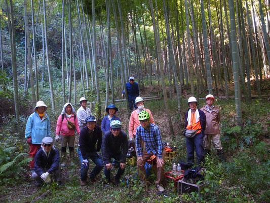 11月10日 森林づくり実践研修