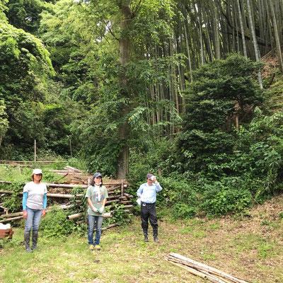 5月24日、イノシシ被害対策プロジェクト+大沢谷広場プロジェクト