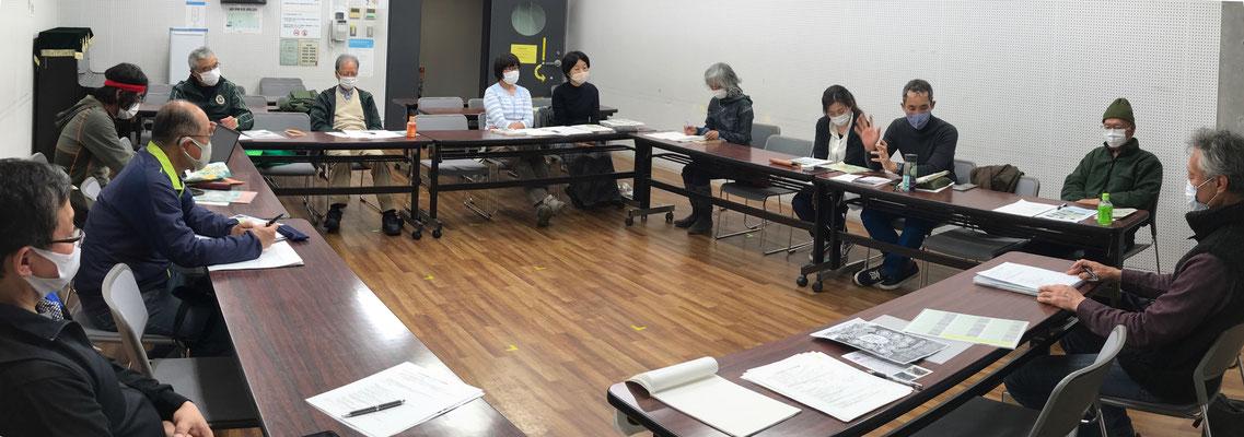 4月12日、二子山山系自然保護協議会運営会議