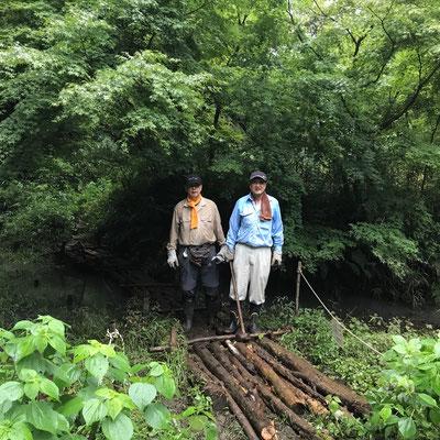 7月5日、イノシシ被害対策プロジェクト+大沢谷広場プロジェクト
