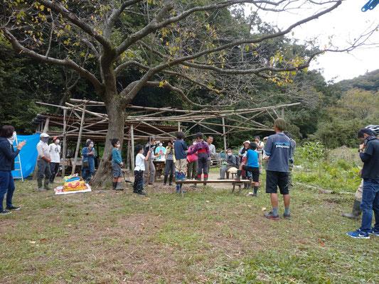 9月26日、上山口寺前谷戸復元プロジェクト