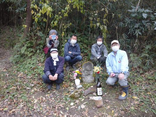 12月19日、上山口寺前谷戸復元プロジェクト