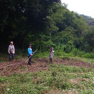 8月21日 農園管理プロジェクト+イノシシ被害対策会議プロジェクト