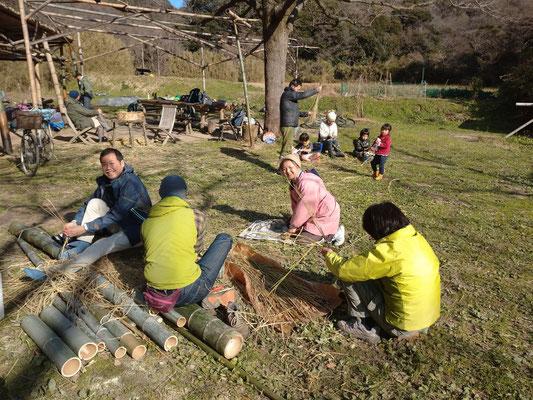 12月29日 上山口寺前谷戸復元プロジェクト
