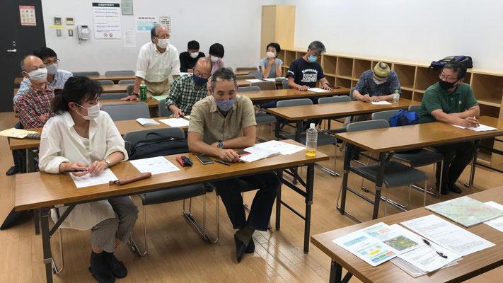 6月14日、二子山山系自然保護協議会運営会議