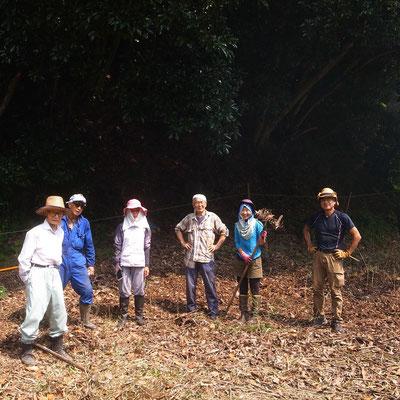 8月26日 農園管理プロジェクト+イノシシ被害対策会議プロジェクト