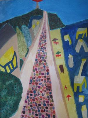 2010 『海辺の道』  41cm×32cm