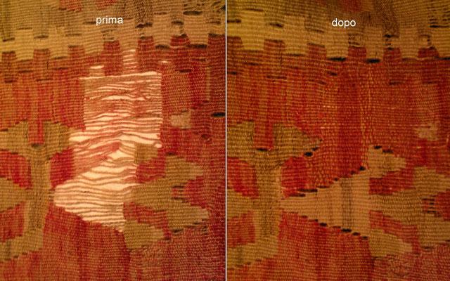 riparazione tappeti Monfalcone-restauro kilim vecchio consumato - kilim Udine