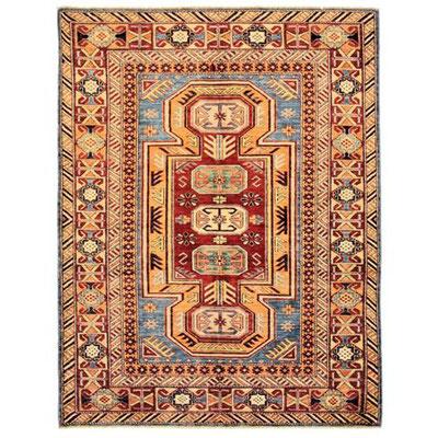 tappeti pakistani-tappeti tabriz carpet udine- tappeto kazak gold lavorazione fine con colori naturali origine Pakistan
