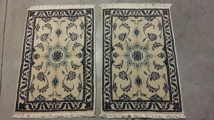 tappeti tabriz carpet udine, tappeti uguali misura scendi letto, tappeto Nain persiano originale