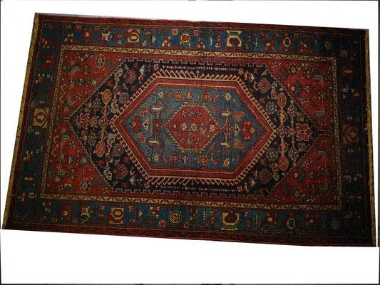 tabriz carpet Udine- tappeto antico persiano Zanjan del 800 perfetto
