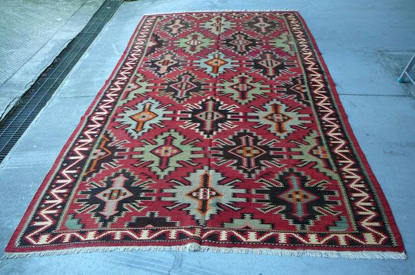 tappeti antichi udine, kilim antico scirvan lavorazione fine perfetto