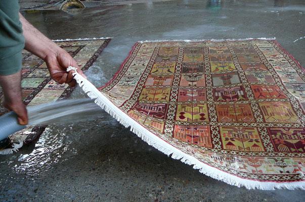 Pulizia tappeti Udine-anche per quanto riguarda la parte posteriore