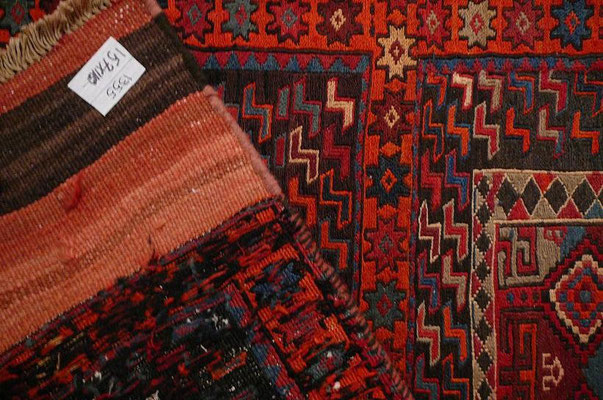 Tabriz carpet udine, tappeto nomade mafrash antico lavorazione kilim e sumak