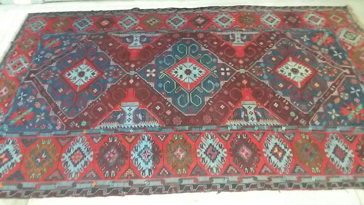 tappeti antichi caucasici sumak, tappeti Udine, sumak antico