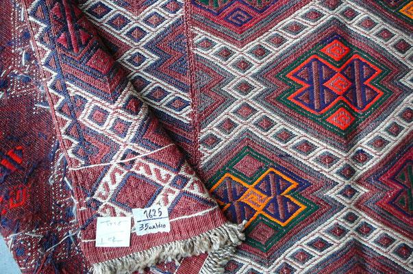 tappeto etnico ladi famiglia kilim, tappeti udine